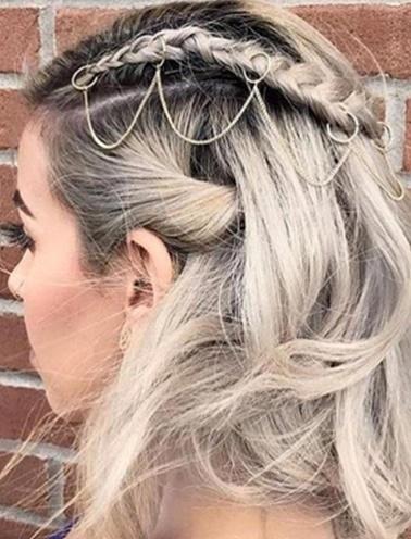 Simplicty Saç Aksesuarı Altın